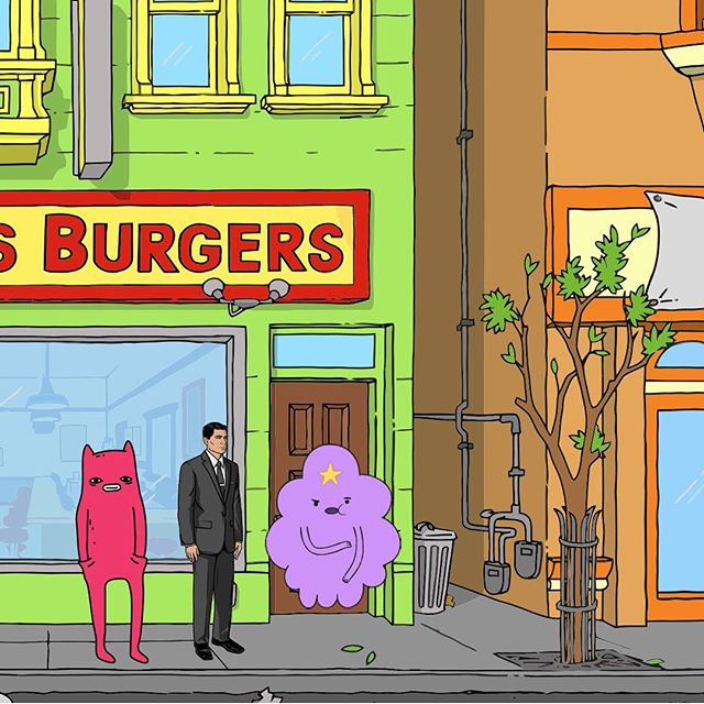 Bob's Burgers, Archer, Adventure Time and Abel