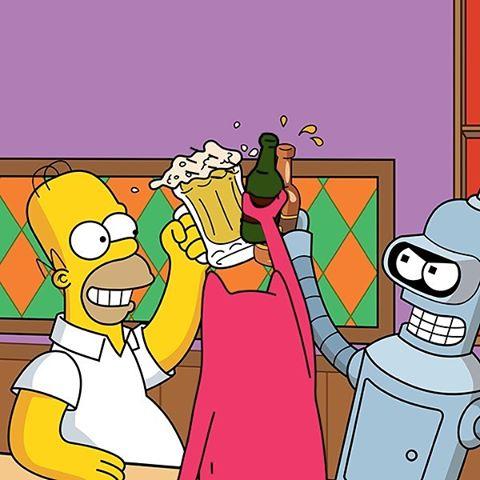 Homer, Bender and Abel