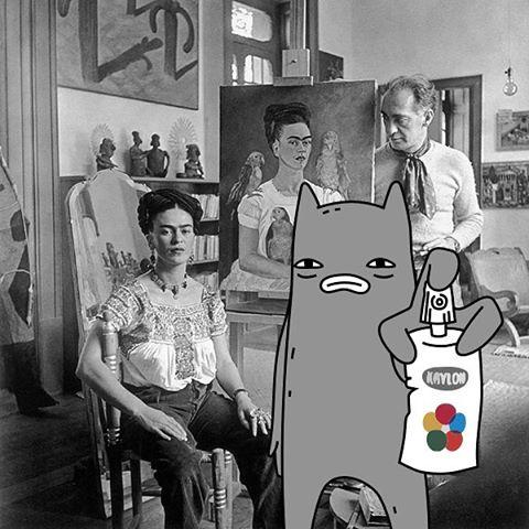 Abel and Frida Kahlo