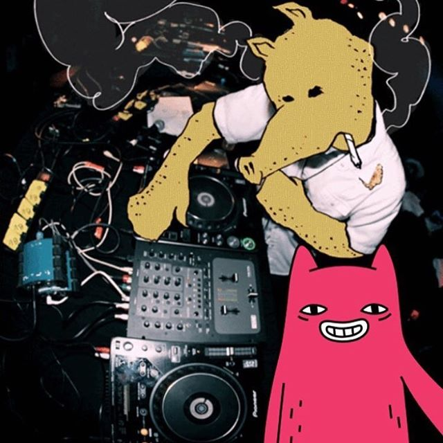 Abel and Quasimoto on the turntables