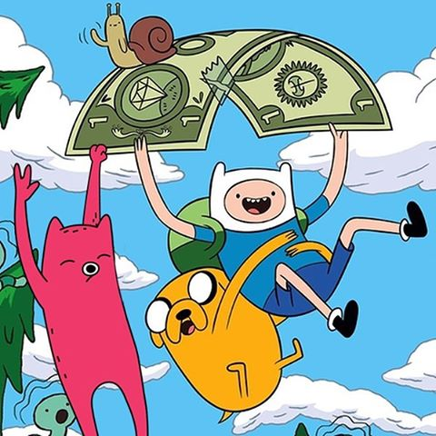 Abel and another Adventure Time party