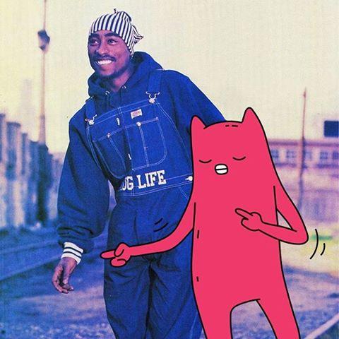 Abel and Tupac throwback