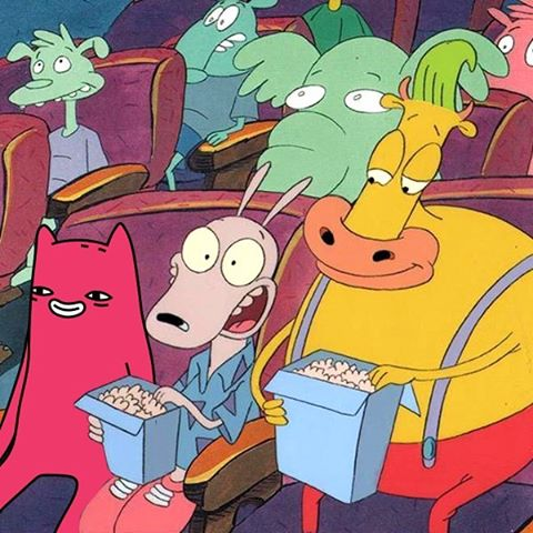 Abel and Rocko's Modern Life gang