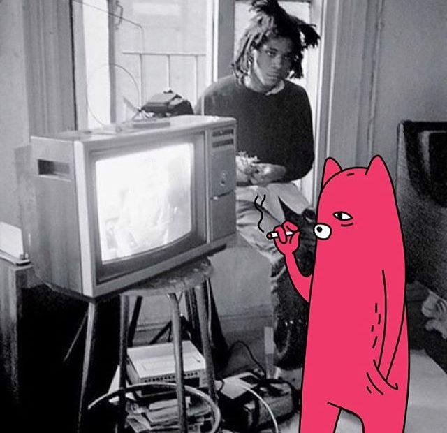Basquiat and Abel smokin