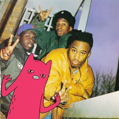 Throwback with Abel and A Tribe Called Quest