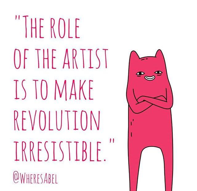 Make art Abel