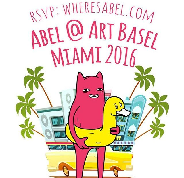 Abel at Art Basel