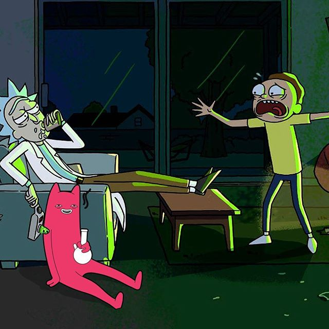Rick and Morty and Abel